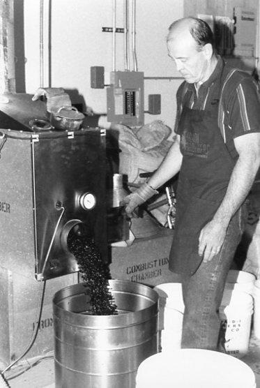 Master Roaster John Gant, Sivetz V Roaster, Circa 1987